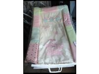 Baby bather and changing mat