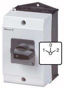 (1 Stk) Motor-Wendeschalter  6,5kW IP65 EATON 207132 // T038401I1