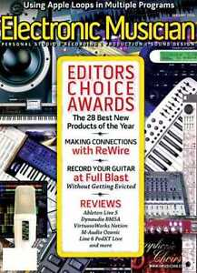KEYBOARD/ELECTRONIC MUSICIAN magazines back issues ... North Shore Greater Vancouver Area image 3