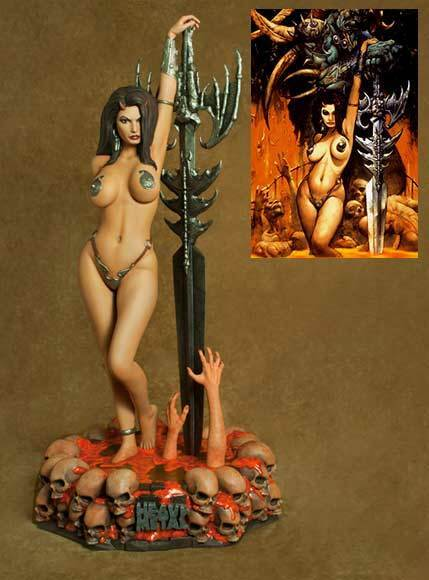 Naked heavy metal ladies #15