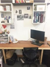 Affordable Desk Spaces in Centrally Located Studio, Dalston