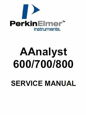 Perkin Elmer Atomic Absorption  600 700 800 Service Manual And Support Files