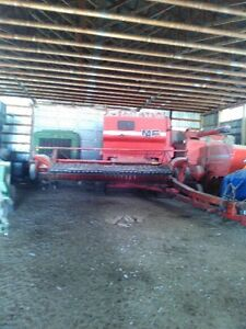 ESTATE CLEAN UP! MASSEY FERGUSON 852 PULL TYPE COMBINE FOR SALE!