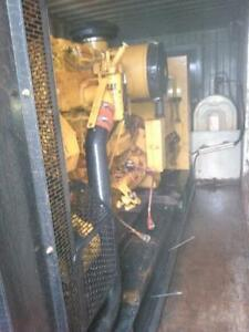 500 kWatt, 600 Volt, CAT C-15 Diesel Genset installedin a 20 ft container with on-boardfuel tanks