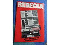 REBECCA. THE NEWS MAGAZINE OF WALES.