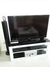 TV Unit. Black Glass and High Gloss White. Mandurah Mandurah Area Preview