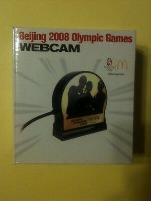 McDonald's Beijing 2008 Olympic Games WEBCAM. NEW.   RARE