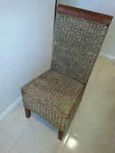 4 Wood and wicker Matching high back chairs $120.00 for the 4 Mandurah Mandurah Area Preview