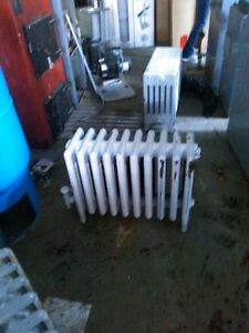 8 Cast Iron Radiators for Sale 175.00 each. All different sizes