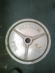 45lb plate for olympic size bar