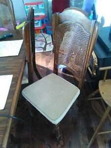 Chaise de cuisine en erable