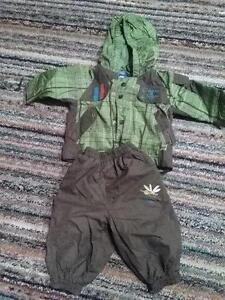 Rain jacket and pants