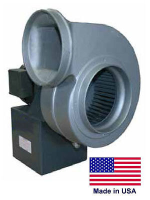 Centrifugal Blower Industrial - 6 Ports - 1.5 Hp - 115230v - 1 Ph - 900 Cfm
