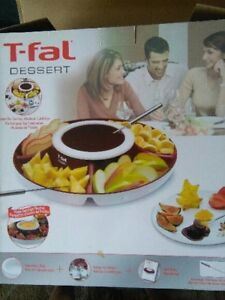 NEW..T-Fal Entertainment Tray....hot or cold dips and sauces