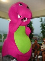 Mascot birthday party character for hire