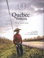 Livre Québec Western 2013 (neuf)