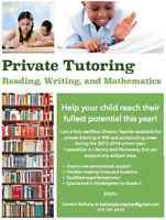 Private Tutoring by Certified Ontario Teacher in KW Area