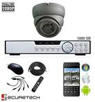 Compleet camera bewaking systeem 1080P HD Dome met live app
