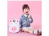 Cute Animal Cartoon Backpack School Bag, for Toddler Children Boys Girls, 2-5 Years Old,