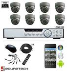 Compleet camera bewaking systeem 720P HD Dome met live app