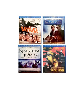 Action Blu-Ray DVD's