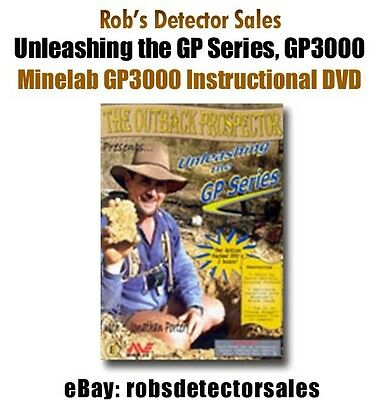The Outback Prospector Presents Unleashing the GP Series for Minelab GP 3000