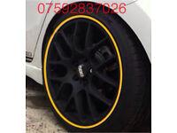 Alloy wheel guards Ford Edge Fiesta Focus C-max KA Kuga Mustang Ranger ST RS Zetec Mondeo Fusion