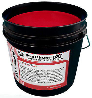Cci Prochem Hxt Red Photopolymer Pre Sensitized Emulsion Quart