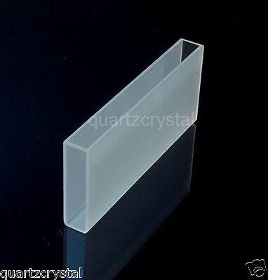 Optical Glass Cuvette 10cm100mm Spectrometer Cell Cuvettes 35ml Glass Cells