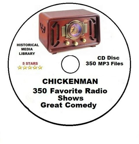 #01 - Chickenman Comedy 350 Highest Rated Radio Shows MP3 CD Collection