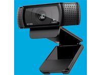 Logitech HD Pro Webcam C920 with Full HD 1080p video calling
