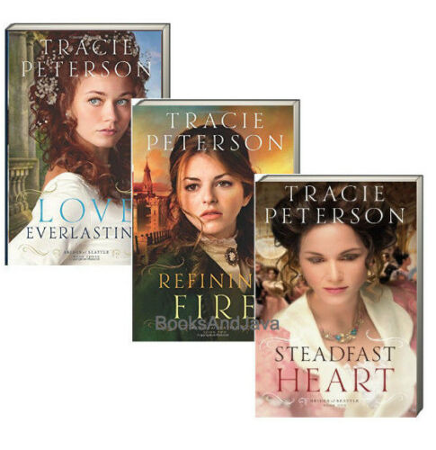 Brides of Seattle 1-3 Steadfast Heart,Refining Fire,Love Ever... Tracie Peterson