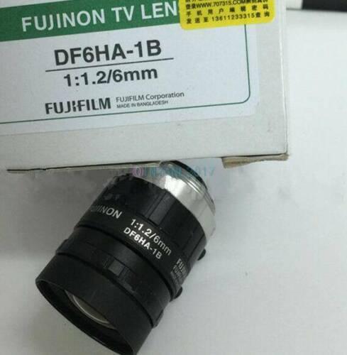 1PCS New Fujinon DF6HA-1B industrial camera lens 6mm fixed focus