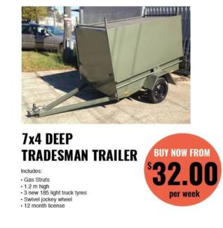 Tradesman Trailers