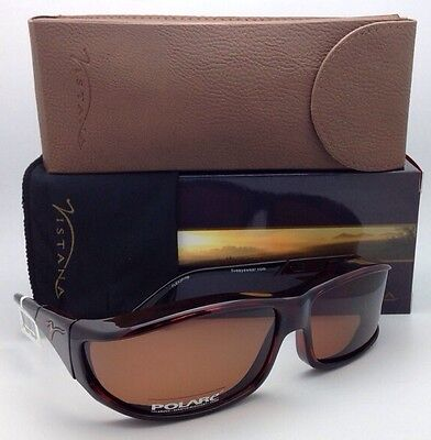 Polarized VISTANA Sunglasses W413C Fits Over Medium-Small Eyeglasses Tortoise