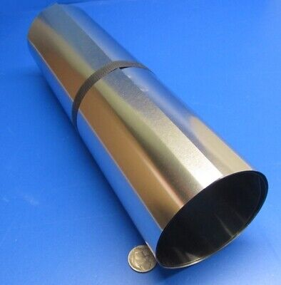 316 Stainless Steel Sheet Soft  .003 Thick X 12.0 Width X 50.0 Length