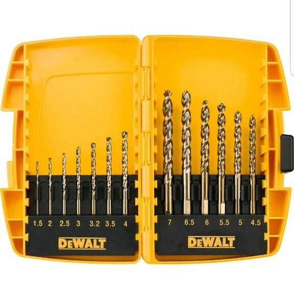 The DEWALT DT7920BQZ Small Tough Case Metal Drill Set
