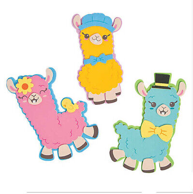Spring Crafts For Kids (No Drama Llama Craft Kit for Kids Spring Colors)