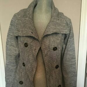 Smartset Grey Wool Cardigan