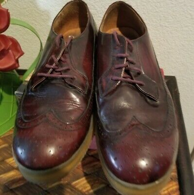 Diesel Oxblood Wingtip Shoes, Size 10.5 for sale  Shipping to India