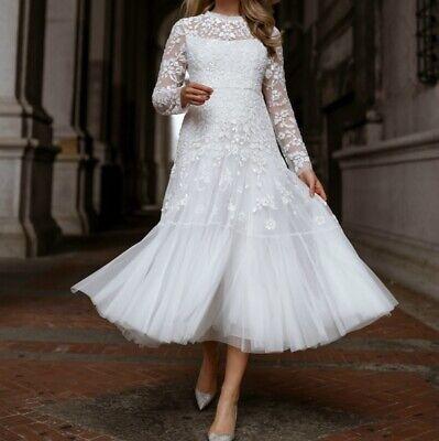BHLDN Needle & Thread Midi Dress fits size US 0 2 $1,129