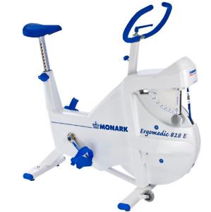Monark Ergomedic 828E Testing Stationary Exercise Bicycle