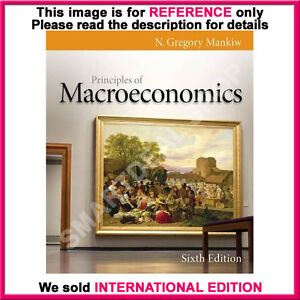 Macroeconomics mankiw gregory n principles by of pdf
