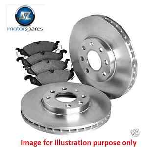 FOR VOLVO XC70 + CROSS COUNTRY 2000-2007 NEW FRONT DISCS 305MM + PADS SET KIT