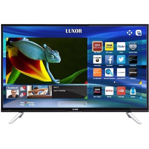 BRAND New LUXOR 50 inch Ultra HD 4K LED Smart TV with wifi, Miracast & Freeview Play
