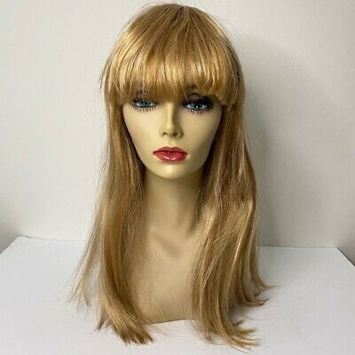 Mannequin Head With Makeup Hair Jewelry Display