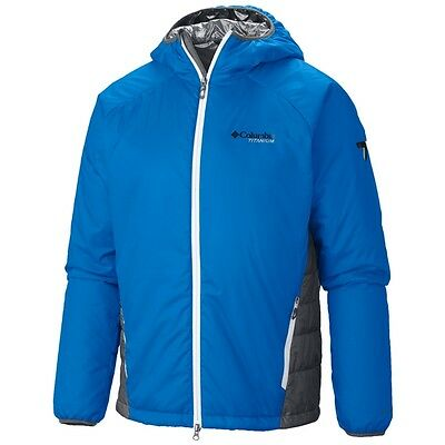 Columbia Prima Hiker Jacket  Med Hyper Blue  Graphite Nwt