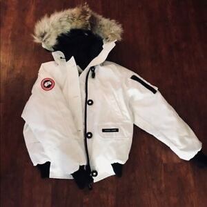 Authentic White Canada Goose (Adult Small or Kids Extra Large)