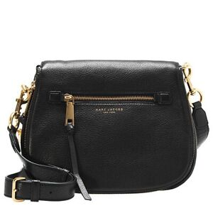Brand New w tags MARC JACOBS Recruit Nomad Pebbled Leather Bag