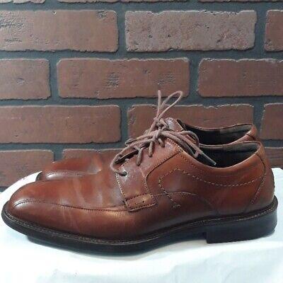 Johnston & Murphy Oxford Shoe Derby Business Mens Brown 8.5 M